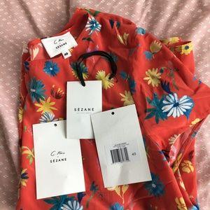 126741df733aad Sezane Tops - Sezane Warry blouse - Sézane x G.Kero